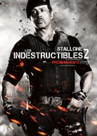 The Expendables 2 - Mexican Movie Poster (xs thumbnail)