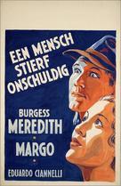 Winterset - Dutch Movie Poster (xs thumbnail)