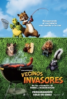 Over The Hedge - Mexican Movie Poster (xs thumbnail)