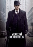 Public Enemies - Slovak Movie Poster (xs thumbnail)