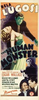 The Human Monster - Movie Poster (xs thumbnail)