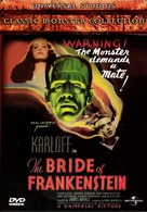 Bride of Frankenstein - Finnish Movie Cover (xs thumbnail)