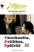 4 luni, 3 saptamini si 2 zile - Finnish DVD movie cover (xs thumbnail)