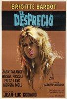 Le mépris - Argentinian Movie Poster (xs thumbnail)