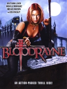 Bloodrayne - DVD cover (xs thumbnail)