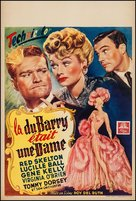 Du Barry Was a Lady - Belgian Movie Poster (xs thumbnail)