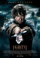 The Hobbit: The Battle of the Five Armies - Finnish Movie Poster (xs thumbnail)