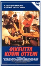 Brotherhood of Justice - Finnish VHS movie cover (xs thumbnail)