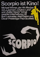 Scorpio - German Movie Poster (xs thumbnail)
