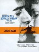 John and Mary - French Movie Poster (xs thumbnail)