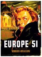 Europa '51 - French Movie Poster (xs thumbnail)
