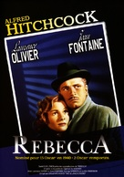 Rebecca - French DVD movie cover (xs thumbnail)