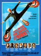 The Naked Gun 2½: The Smell of Fear - French Movie Poster (xs thumbnail)