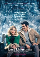 Last Christmas - Norwegian Movie Poster (xs thumbnail)