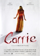 Carrie - French Re-release poster (xs thumbnail)