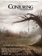 The Conjuring - French Movie Poster (xs thumbnail)