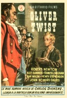 Oliver Twist - Spanish Movie Poster (xs thumbnail)