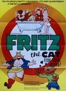 Fritz the Cat - Danish Movie Poster (xs thumbnail)
