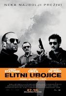 Killer Elite - Croatian Movie Poster (xs thumbnail)
