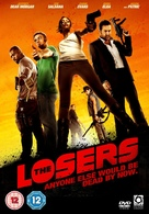 The Losers - British DVD cover (xs thumbnail)