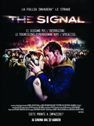 The Signal - Italian Movie Poster (xs thumbnail)