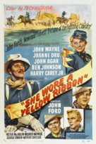 She Wore a Yellow Ribbon - Theatrical poster (xs thumbnail)