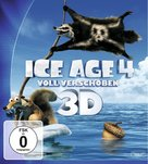 Ice Age: Continental Drift - German Blu-Ray cover (xs thumbnail)