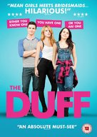 The DUFF - British DVD movie cover (xs thumbnail)
