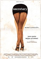 Secretary - Spanish Movie Poster (xs thumbnail)