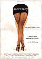 Secretary - Spanish Movie Poster (xs thumbnail)