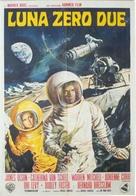 Moon Zero Two - Italian Movie Poster (xs thumbnail)
