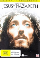"""Jesus of Nazareth"" - Australian DVD movie cover (xs thumbnail)"