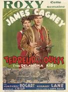 The Oklahoma Kid - Belgian Movie Poster (xs thumbnail)
