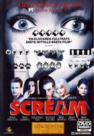 Scream - Swedish DVD movie cover (xs thumbnail)