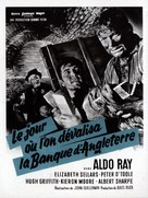 The Day They Robbed the Bank of England - French Movie Poster (xs thumbnail)