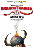 How to Train Your Dragon - Italian Movie Poster (xs thumbnail)