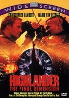 Highlander 3 - DVD cover (xs thumbnail)