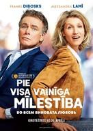 Tout le monde debout - Latvian Movie Poster (xs thumbnail)