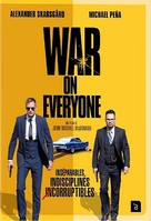 War on Everyone - French DVD movie cover (xs thumbnail)