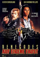 Renegades - German Movie Poster (xs thumbnail)