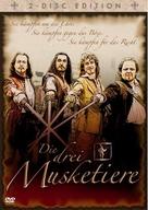 D'Artagnan et les trois mousquetaires - German DVD cover (xs thumbnail)