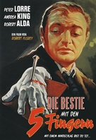 The Beast with Five Fingers - German DVD movie cover (xs thumbnail)