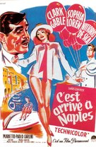 It Started in Naples - French Movie Poster (xs thumbnail)