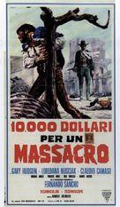 10.000 dollari per un massacro - Italian Movie Poster (xs thumbnail)