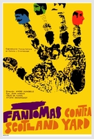 Fantômas contre Scotland Yard - Cuban Movie Poster (xs thumbnail)
