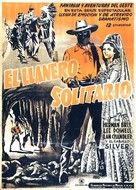 The Lone Ranger - Mexican Movie Poster (xs thumbnail)