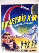 Rocketship X-M - Belgian Movie Poster (xs thumbnail)