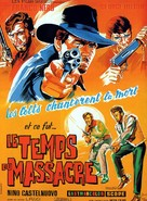 Tempo di massacro - French Movie Poster (xs thumbnail)