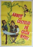 Jack and the Beanstalk - Swedish Movie Poster (xs thumbnail)