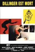 Dillinger è morto - French Movie Poster (xs thumbnail)